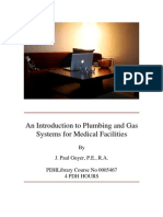 0005467-An Introduction to Plumbing and Gas Systems for Medical Facilities