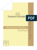 Los Propósitos psicológicos Tomo 1 (PP1)