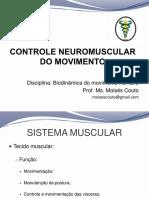 Controle neuromuscular do movimento