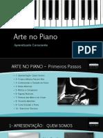 arte no piano - ebook i - primeiros passos