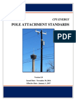 CPS Energy Pole Attachment Standards_Version 2_Effective January 1 2017
