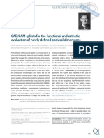 CADCAM splints for the functional and esthetic evaluation of newly defined occlusal dimensions .pdf
