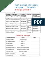 COMISIONES -2020- 2021