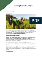 Trucos de Farming Simulator 19 para PC
