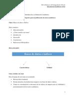 Bases de datos e índices