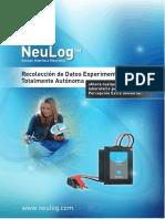 NeuLog. Recolección de Datos Experimentales Totalmente Autónoma Ahora cualquier aula o - PDF.pdf