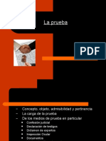 LA PRUEBA EN DERECHO PROCESAL LABORAL. HECHOS NOTORIOS