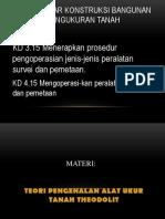 DDKBTPT KD 3.16 Menerapkan prosedur pengoperasian jenis-jenis peralatan survei dan pemetaan Materi Minggu Ke 3 Daring.pdf