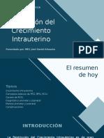 Restricción del Crecimiento Intrauterino
