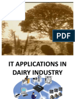 It Applications in the Dairy Industry
