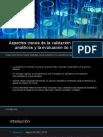 Aspectos claves de la validación de métodos analíticos