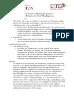 standard 7  mentor observation 1  rationale