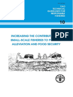 increasing the contribution of small-scale fisheries
