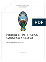 produccion de sosa caustica