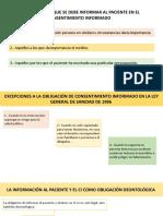 RIESGOS DE LOS QUE SE DEBE INFORMAR AL PACIENTE EN EL CONSENTIMIENTO INFORMADO