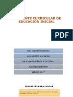 1. DEFINICIONES ESENCIALES en educación inicial