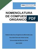 Nomenclatura Compuestos Orgánicos aula virtual