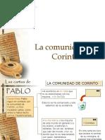 PABLO - La comunidad de CORINTO
