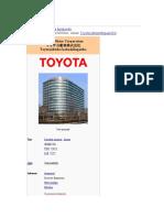 Historia Toyota