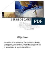 SEPSIS DE CATÉTER