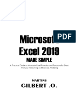 Microsoft Excel 2019 Made Simple.pdf