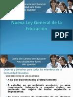 deberes y derechos en la  L.G.E.ppt