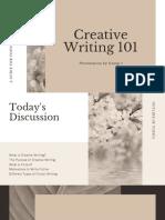 Cream Creative Writing 101Education Presentation.pdf