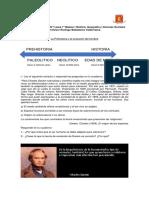 Guía de Aprendizaje N°1 La evolución del hombre y la teoría de Darwin