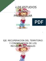 1 PLAN DE ESTUDIO GRADO PRESCOLAR
