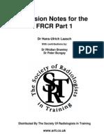 FRCR PART 1 Revision Notes