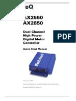 Dual ChannelHigh PowerDigital MotorController