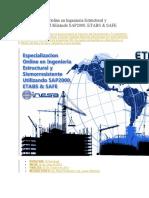 Especializacion Online en Ingenieria Estructural y Sismorresistente Utilizando SAP2000, ETABS & SAFE.docx