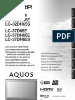 Sharp Lc32 37d65e Dh65e s Om Fr