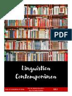Plano de Curso  Linguistica contemporanea