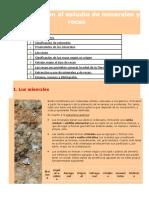 INFORMACION DE LAS ROCAS Y MINERALES