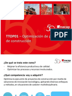 4. TTOP01 - Optimización de proyectos