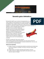 Garantía gatos hidráulicos.docx