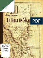 La Ruta de Nicaragua David I. Folkman Jr.