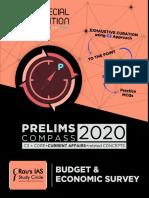 Raus IAS Prelims Compass 2020 Budget and Economic Survey PDF