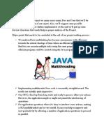 CONCLUSION (Multi-threading).docx