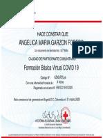 Certificación como Participante Comunitario