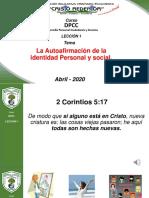 CLASE_001, DPCC 5to Autoafirmacion de la identidad -prueva