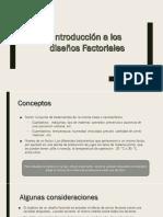 Presentación Factorial I-2019