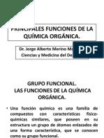 CLASE3-PRINCIPALES FUNCIONES DE LA QUÍMICA ORGÁNICA