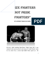 Prize Fighters Not Pride Fighters PDF