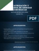 CICATRIZACIÓN Y CUIDADOS DE HERIDAS QUIRÚRGICAS