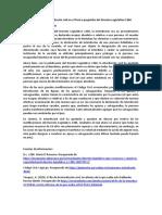Análisis de la interdicción civil en el Perú