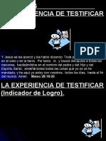 6 Lección 6, La Experiencia de Testificar.ppt