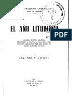 AÑO LITÚRGICO - Dom Gueranger - COMPLETO.pdf