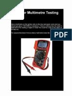 Stator Testing